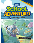 School Adventures Graded Comic Readers 3-6 : The Tiny Ocean (with CD)