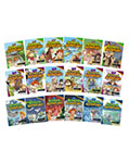 School Adventures Graded Comic Readers Full Set (18 Books with CD)