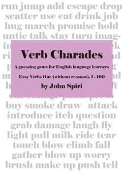 Verb Charades 1 Without Reasons - (Single User)