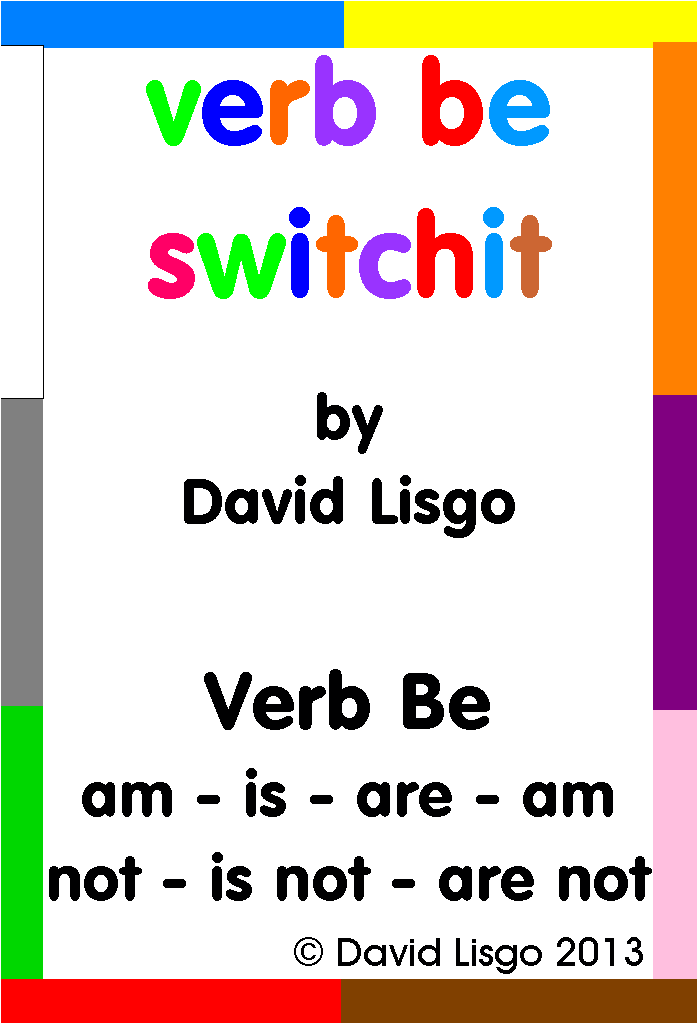 Verb Be Switchit Cards (Download Version)