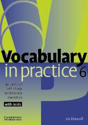 Vocabulary in Practice 6