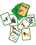 Vocabulary Games - nouns - Zooish (Zoo Animals)